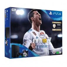 PlayStation 4 SLIM Bundle (500 Gb, FIFA 18), , Консоли